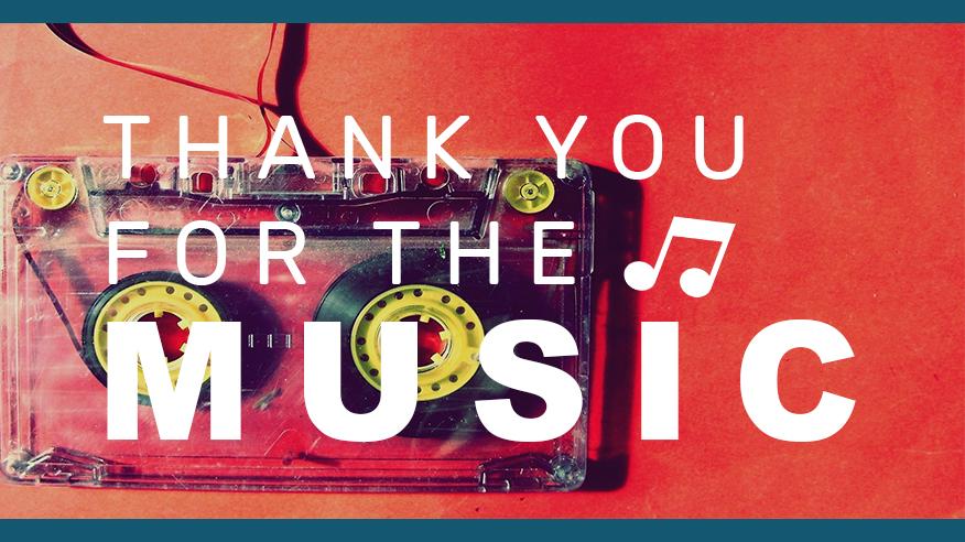 תודה על המוזיקה